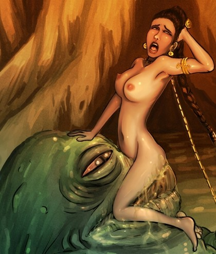 pictures cartoon naked padme sex having