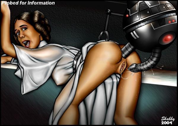 Leia porn slave